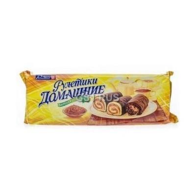 Мини-рулетики Раменский Домашние Вареная сгущенка в шоколаде