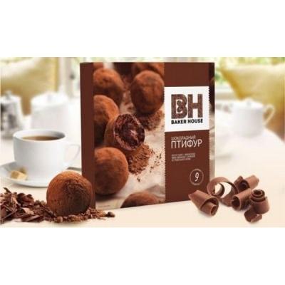 Мини-пирожные Раменский Шоколадный Птифур с трюфельным кремом французские