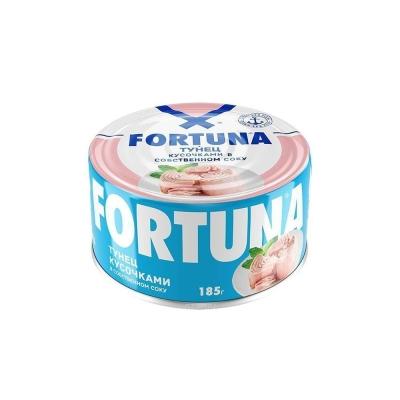 Тунец филе Fortuna в собственном соку
