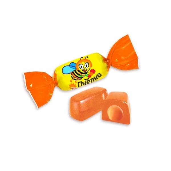 Конфеты Ламзурь Пчелка Жюсель вкус Апельсин
