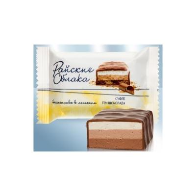 Конфеты Сладкий Орешек Райские облака суфле три шоколада