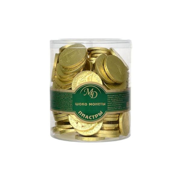 Шоколадные монеты Монетный двор