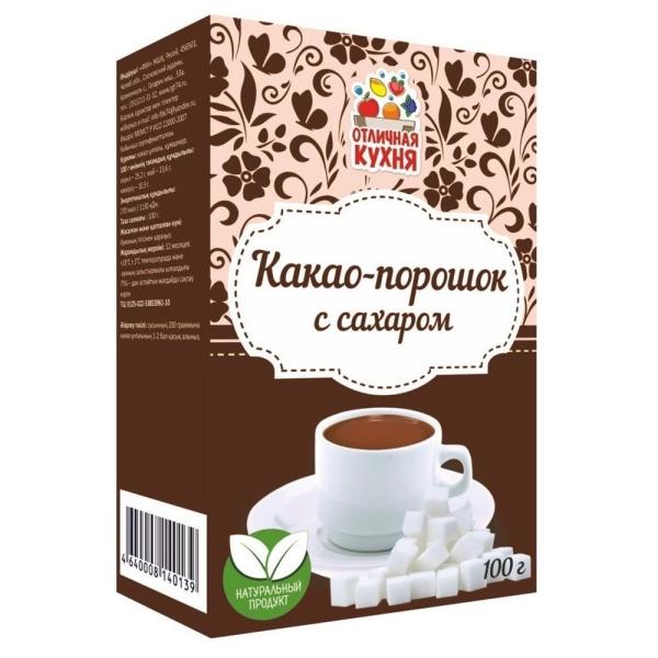 Какао с сахаром Отличная кухня
