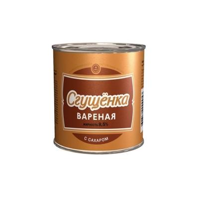 Сгущенка вареная с сахаром Верховский молочно-консервный завод