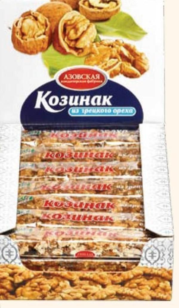 Козинак Азовская кондитерская фабрика из грецкого ореха
