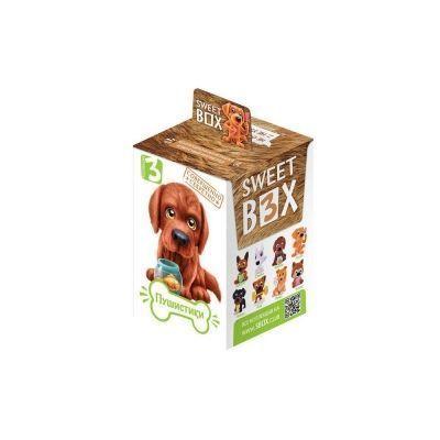 Мармелад SWEET BOX ПУШИСТИКИ щенята Коллекция № 3 с игрушкой