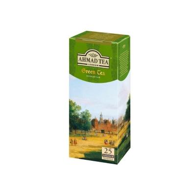 Чай зеленый Ahmad Tea Green Tea 25 пак.