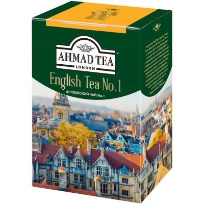 Чай черный листовой Ahmad Tea Английский N1