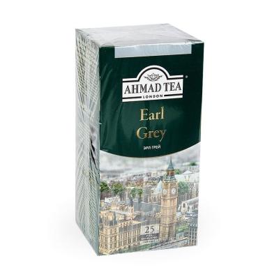 Чай черный Ahmad Tea Эрл Грей 25 пак.