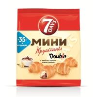 Круассаны 7DAYS мини какао - ваниль