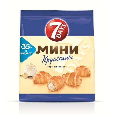 Круассаны 7DAYS мини ваниль