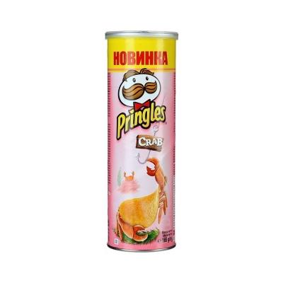 Чипсы картофельные Принглс со вкусом краба