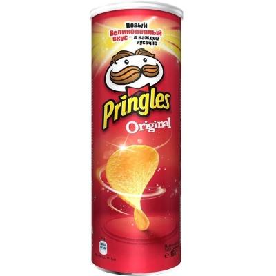 Чипсы картофельные Принглс Original