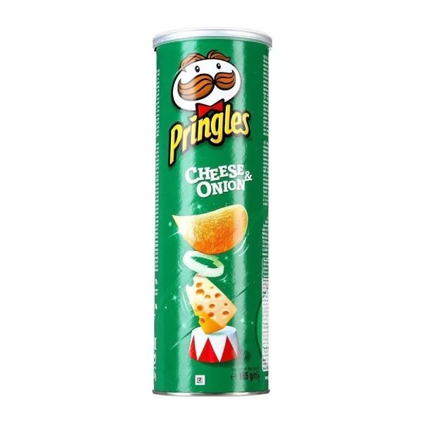 Чипсы Принглс сыр и лук