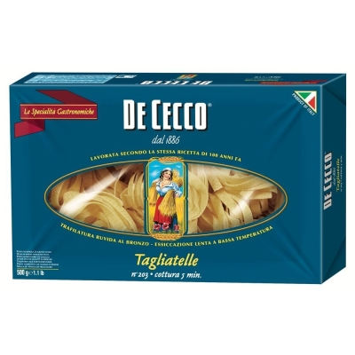 Макаронные изделия De Cecco Таглиателе