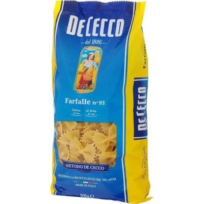 Макаронные изделия De Cecco Фарфалле