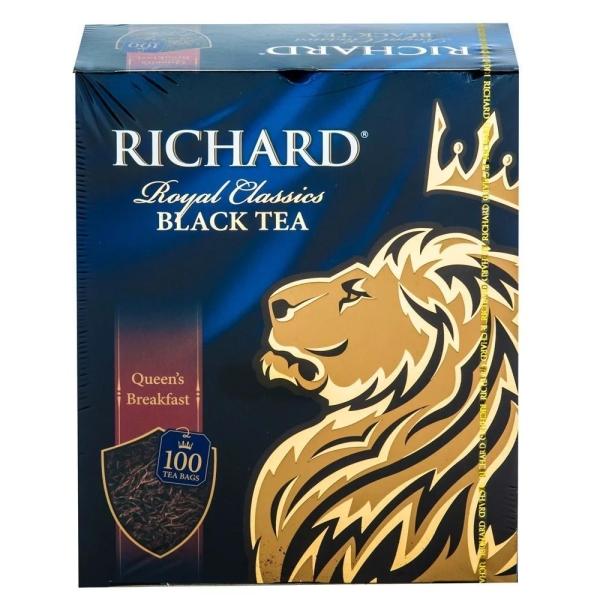 Чай черный Richard Queen's Breakfast 100 пак.