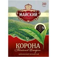 Чай черный Майский Корона Российской Империи листовой