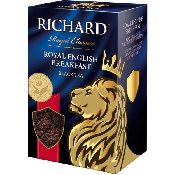 Чай черный Richard English Breakfast листовой