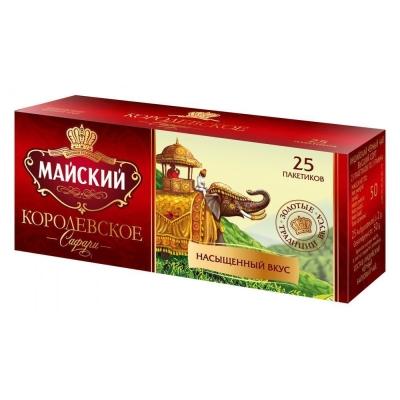 Чай черный Майский Королевское сафари 25 пак.