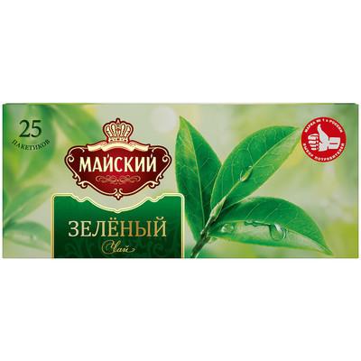 Чай зеленый Майский 25 пак.