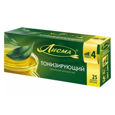 Чай зеленый Лисма тонизирующий 25 пак.