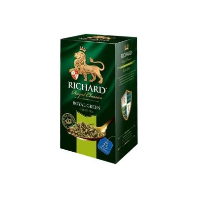 Чай зеленый Ричард 25 пакетов Роял Грин