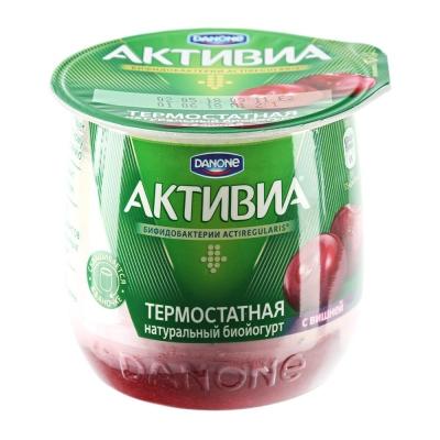 Биойогурт Активиа термостатный со вкусом Вишни 2,7%