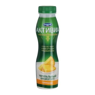 Биойогурт Активия питьевой Ананас 2%
