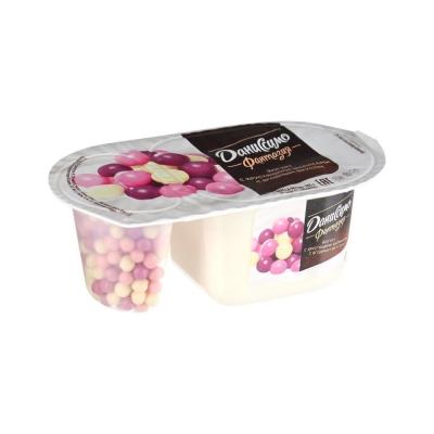 Йогурт Danone Даниссимо Фантазия Хрустящие шарики с ягодным вкусом 6,9%