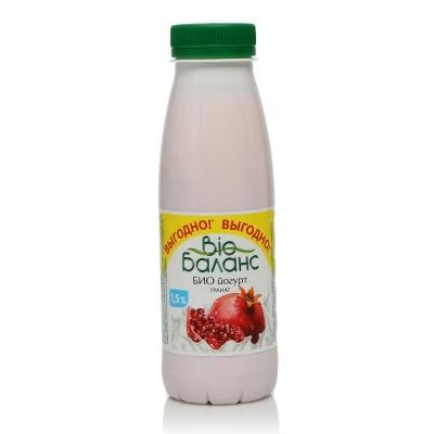 Йогурт питьевой БиоБаланс гранат