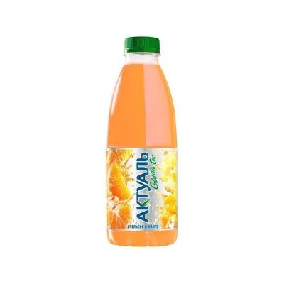 Напиток Актуаль Джусси сыворотка с соком Апельсин-манго