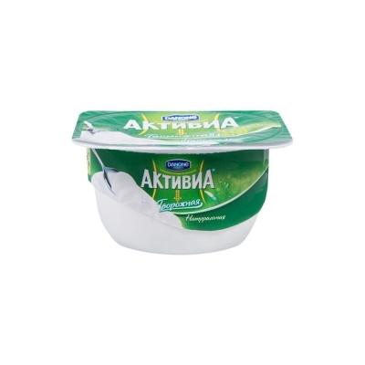 Продукт Активиа Danone творожная натуральная 4,5%