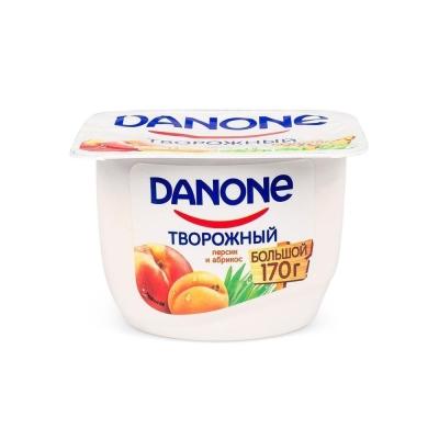 Творожок Данон персик-абрикос