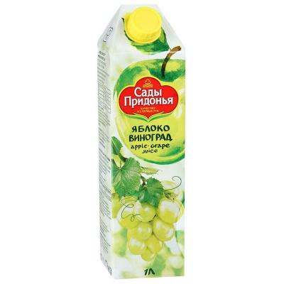 Сок Сады Придонья Яблоко виноград