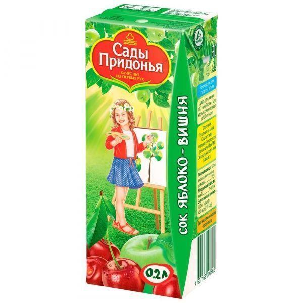 Сок Сады Придонья Яблочно-Вишневый