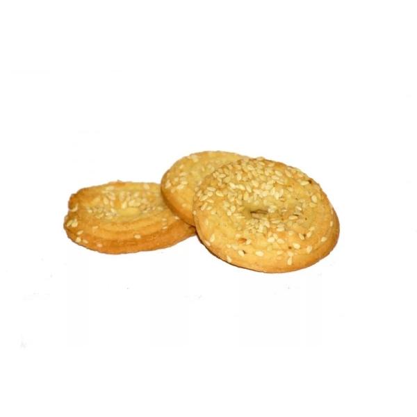 Печенье Баттерфляй Колечки хрустящие с кунжутом