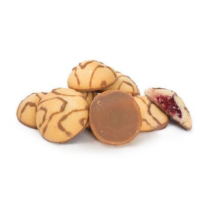 Печенье Баттерфляй Лукошко с апельсиновой начинкой в декоре