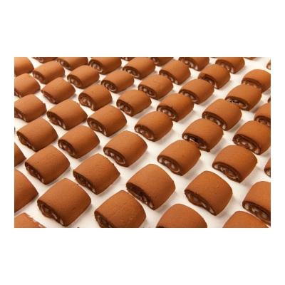 Печенье Баттерфляй песочно-шоколадный рулетик с начинкой