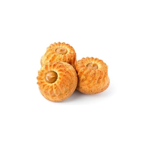 Маффины сдобные Пексы Калейдоскоп с кремовой начинкой со вкусом вареной сгущенки