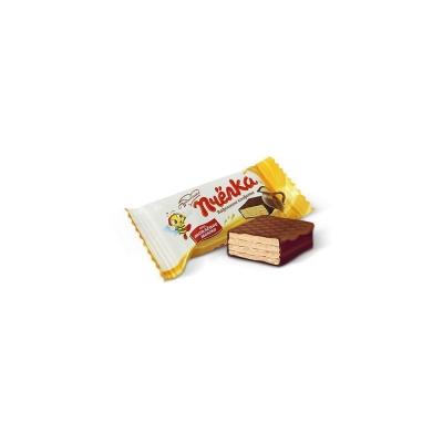 Конфеты Би-энд-Би Пчелка (Топленое Молоко) шоколадно-вафельные