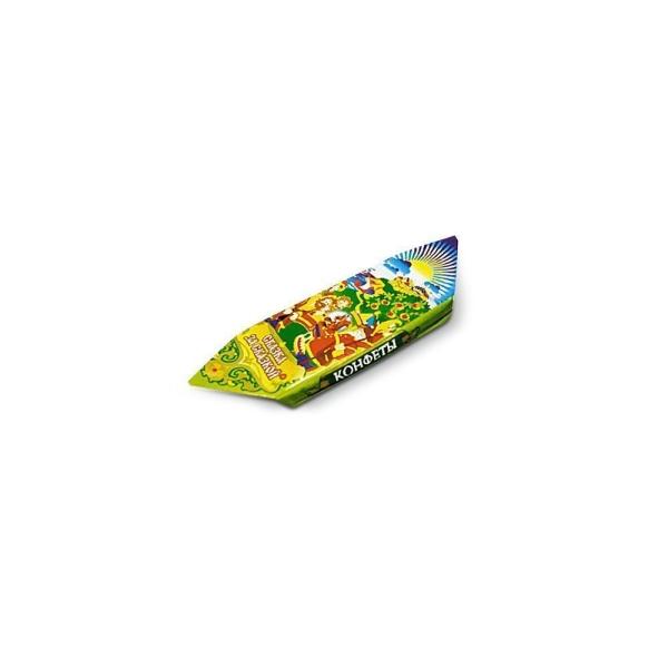Конфеты Би-энд-Би Сказка за сказкой №1 (КРУПНЫЕ) шоколадно-вафельные глазированные
