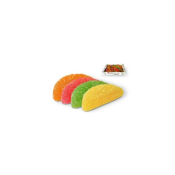 Мармелад Би-энд-Би Желе-Лэнд (цитрусовые дольки) желейные фигурки в сахарной обсыпке