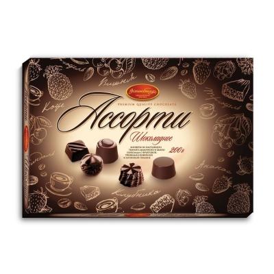 Набор конфет 'Волшебница' Шоколадное Ассорти (Коричневое)