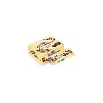 Вафли Коломенское Шоколадница в глазури с арахисом
