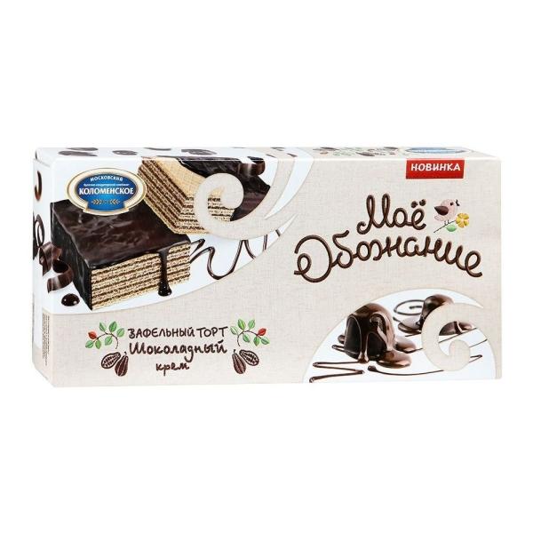 Торт Коломенское Мое Обожание Шоколадный Крем