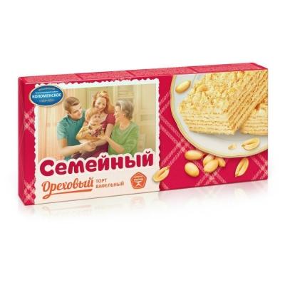 Торт Коломенское Семейный Ореховый