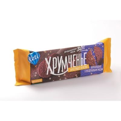 Печенье Хрумченье шоколадное с воздушным рисом