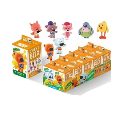 Мармелад с игрушкой в коробочке Ми-ми-мишки
