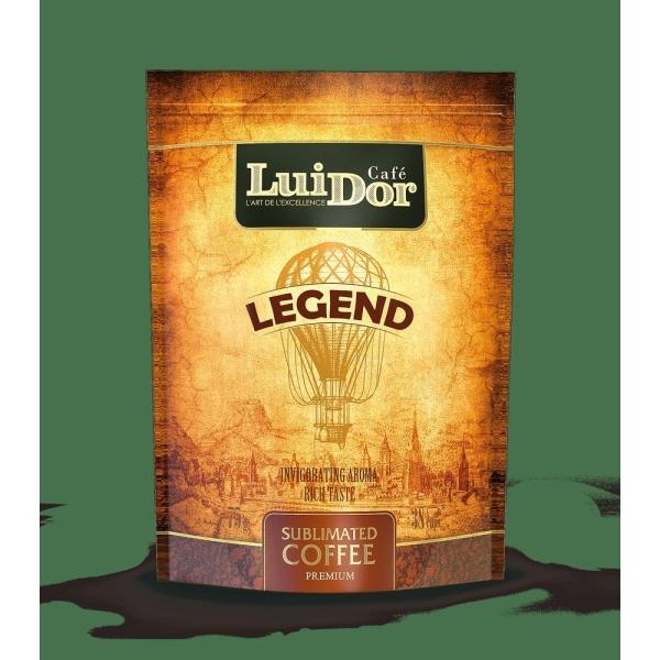 Кофе растворимый Луидор Легенд Дой-пак